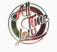 All Time Low watercolour logo by Chloe Reynolds