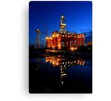 Blackford Dolphin Alight  Canvas Print