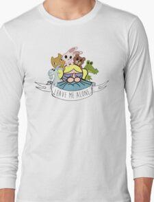 Leave Me Alone: Bubbles Long Sleeve T-Shirt