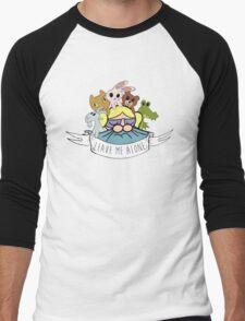 Leave Me Alone: Bubbles Men's Baseball ¾ T-Shirt