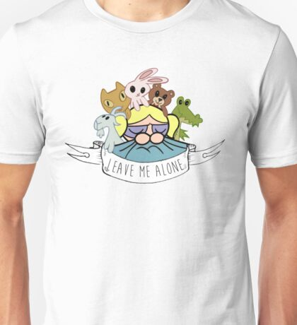 Leave Me Alone: Bubbles Unisex T-Shirt