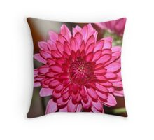 Hot Pink Throw Pillow
