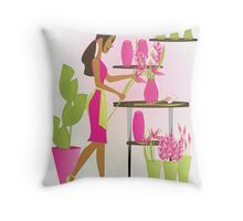 Special Arrangements-Berry Throw Pillow