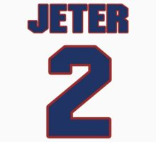 National baseball player Derek Jeter jersey 2 by imsport