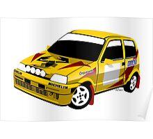 Fiat Cinquecento Trofeo Poster
