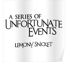 A Series of Unfortunate Events Poster
