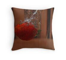 Berry takes a Dive #2 Throw Pillow