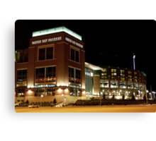 The Green Bay Packers Canvas Print