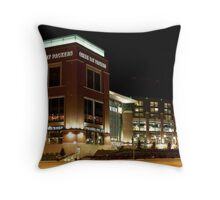 The Green Bay Packers Throw Pillow