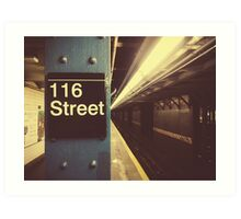 New York City Subway Art Print