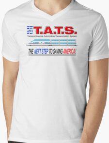 T.A.T.S. - Transcontinental Automobile Transportation System Mens V-Neck T-Shirt