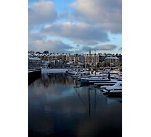 Snow Sails Here Photographic Print