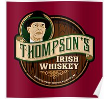 Thompson's Whiskey Poster