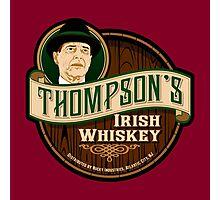Thompson's Whiskey Photographic Print