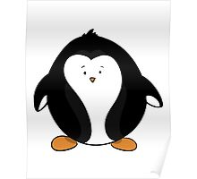 Penguin Too Cute Poster