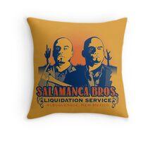Salamanca Bros. Throw Pillow