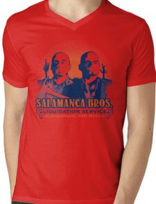 Salamanca Bros. Mens V-Neck T-Shirt