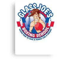 Glass Joe's Boxing School Canvas Print