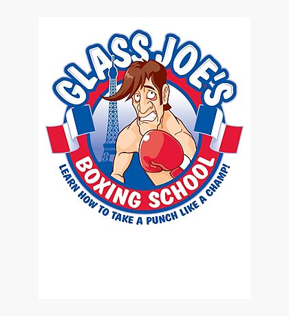 Glass Joe's Boxing School Photographic Print