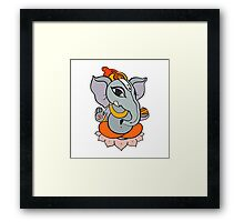 God Ganapati Framed Print