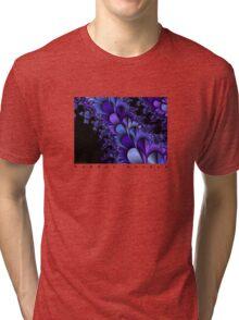 Purple Petals Tri-blend T-Shirt