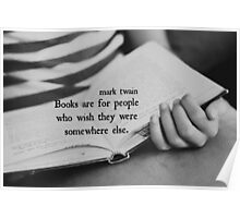 Mark Twain Books Poster