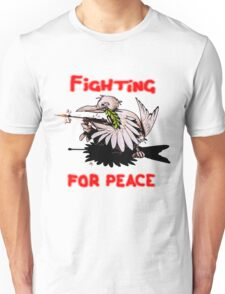 Fighting For Peace (4) Unisex T-Shirt
