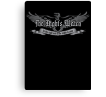 The Night's Watch Canvas Print