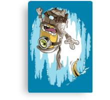 Frozen Banana Canvas Print
