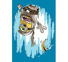 Frozen Banana Photographic Print
