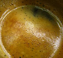 A cup of coffee in the morning !  by Angy