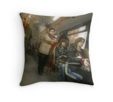 3.132.463 inhabitants, 3.132.463 storys Throw Pillow
