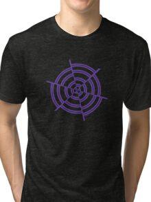 Mandala 2 Purple Haze  Tri-blend T-Shirt