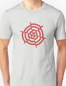 Mandala 2 Colour Me Red  Unisex T-Shirt