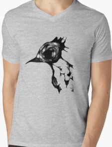Psycho Bird Mens V-Neck T-Shirt
