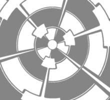 Mandala 3 Charcoal  Sticker