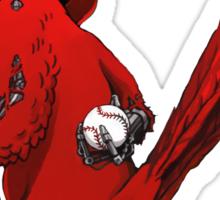 The Fredbirdator Sticker