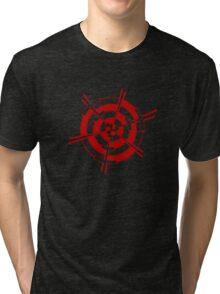 Mandala 3 Colour Me Red Tri-blend T-Shirt