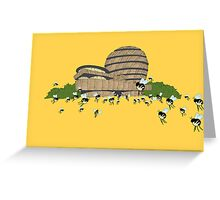 guggen hives Greeting Card