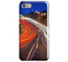 Night Trails At Rush Hour iPhone Case/Skin
