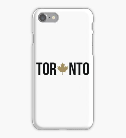 Toronto Maple | OVO Colorway iPhone Case/Skin