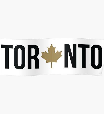Toronto Maple   OVO Colorway Poster