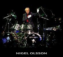 Nigel Olsson of Elton John's Band by HellGateStudios