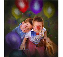 Clowns Photographic Print