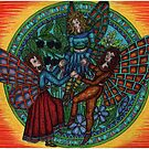 fairy circle 2, dancing fairys by CherrieB