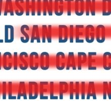 American Wanderlust Sticker