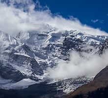 The Peak of Annapurna II, Nepal by journeysincolor