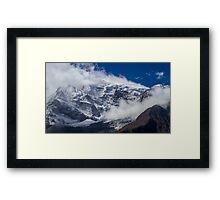 The Peak of Annapurna II, Nepal Framed Print