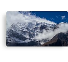 The Peak of Annapurna II, Nepal Canvas Print