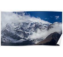 The Peak of Annapurna II, Nepal Poster